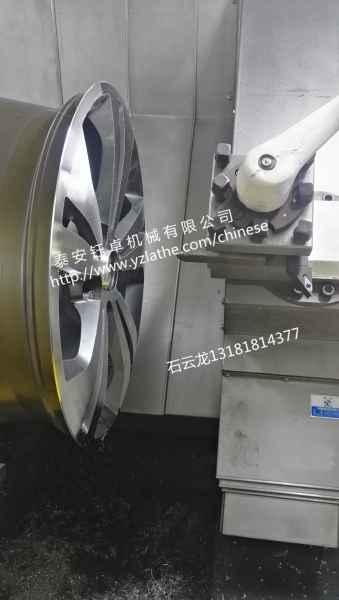 轮毂车床 轮毂拉丝机 轮毂修复设备 钰卓机械
