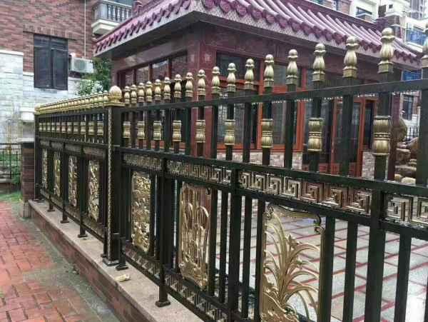 铝艺庭院围栏价格