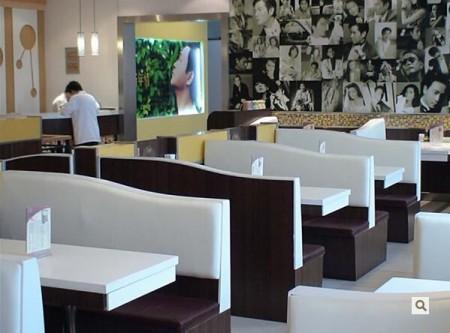 茶餐廳沙發定做價格