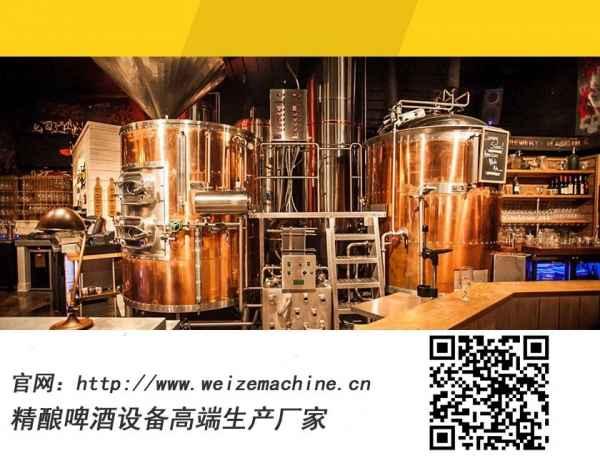 紫铜啤酒设备、精酿啤酒设备、酒店酒吧啤酒设备哪家好,怎么选