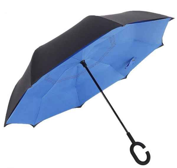 汽车反向伞商务礼品伞定制