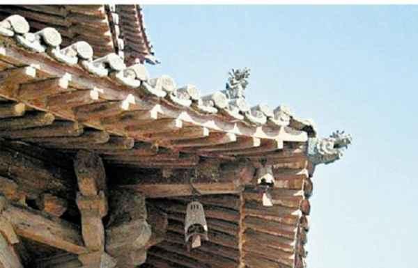 古建筑水泥斗拱