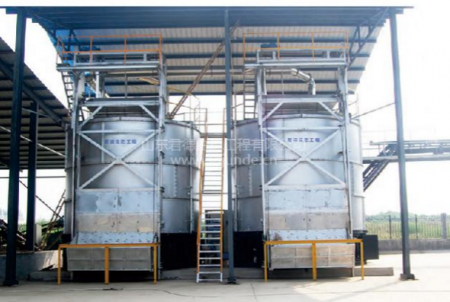 立式畜禽粪便发酵设备
