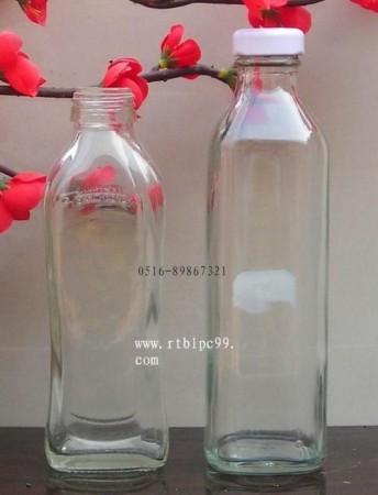 高白玻璃饮料瓶