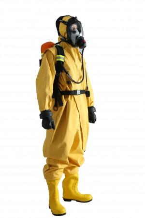 全封闭化学防护服