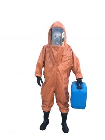 气体致密型防护服