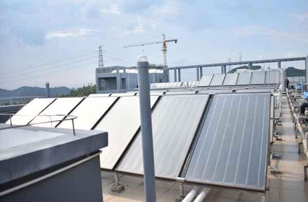 太阳能热水器工程施工