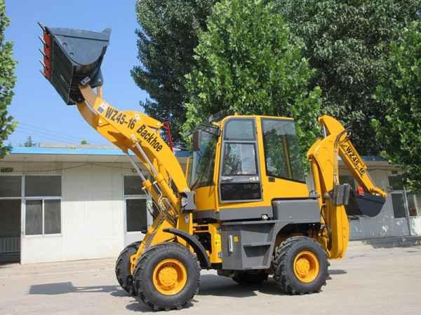 多功能WZ45-16挖掘装载机前铲后挖