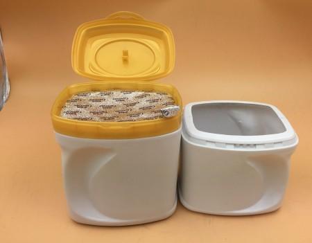 多层塑料奶粉罐厂家直销