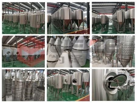 不锈钢啤酒设备发酵罐
