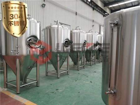 精酿啤酒设备中的发酵系统