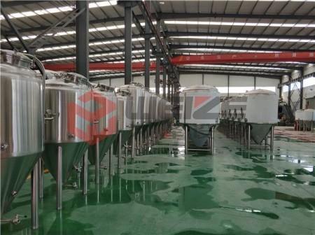 500升啤酒屋精酿啤酒设备
