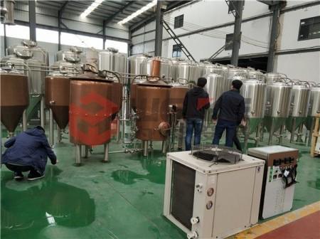 啤酒酿造不锈钢双层保温罐