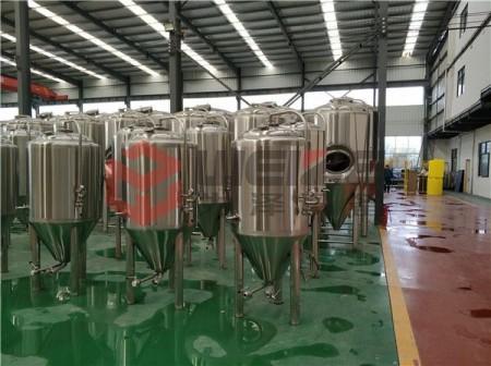 蒸汽加热精酿酒厂啤酒设备