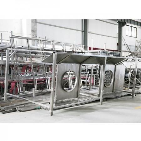 江苏堆积式螺旋速冻机