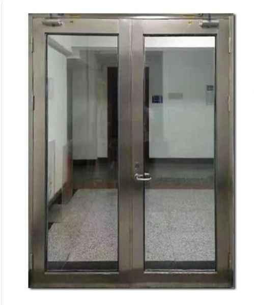 不锈钢防火门对开门