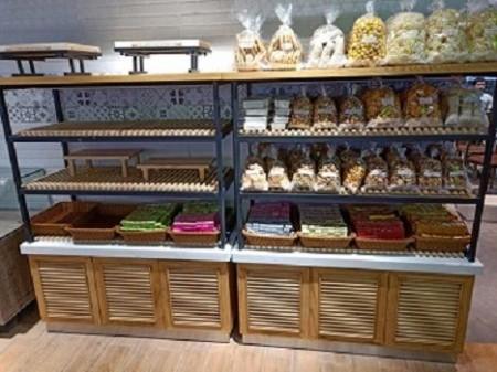 面包糕點展示架