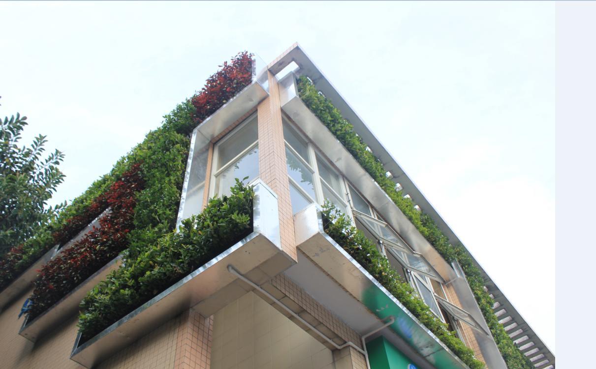 模块式垂直绿化