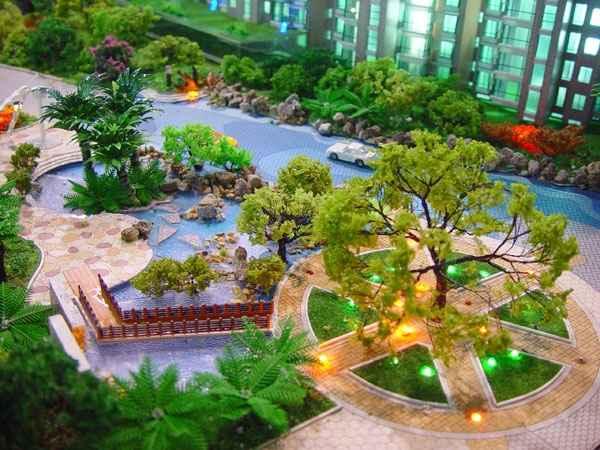 沈阳景观模型 景观沙盘制作 商家名称沈阳市于洪区艺之源模型设计中心图片