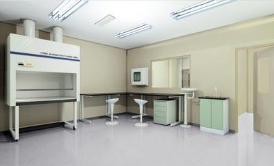 在现代实验室里,先进的科学仪器和优越完善的实验室是提升现代化科技