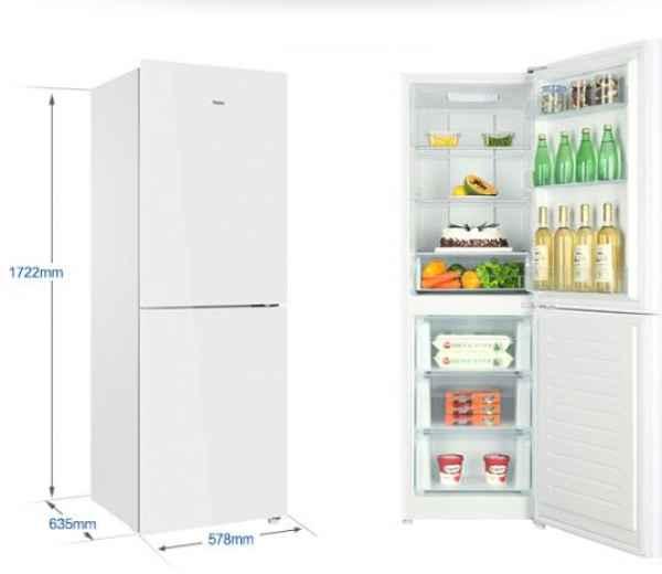 海尔三开门冰箱