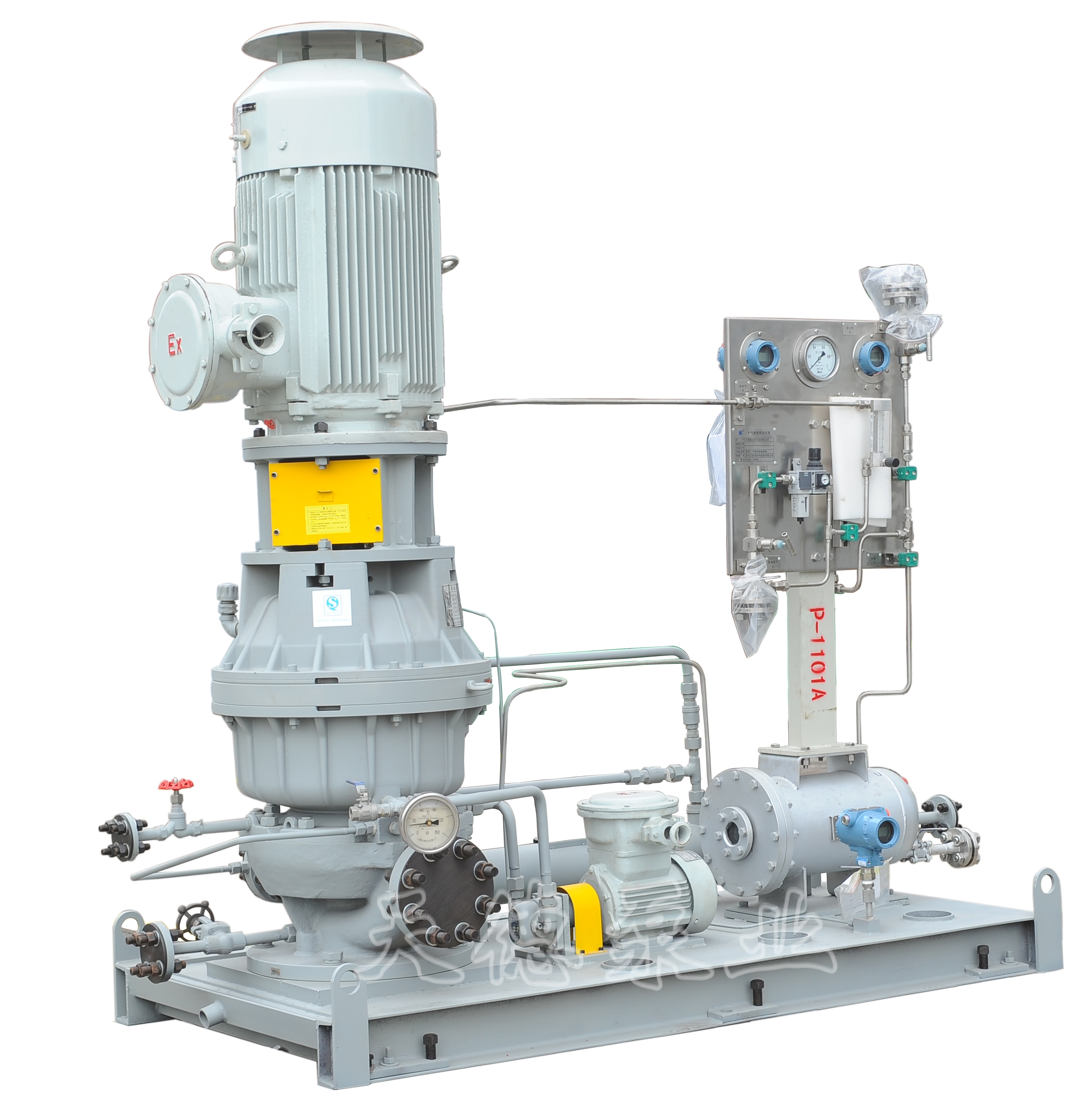 gsb-l2   系列立式高速离心泵是单级,单吸,立置部分流式离心泵.