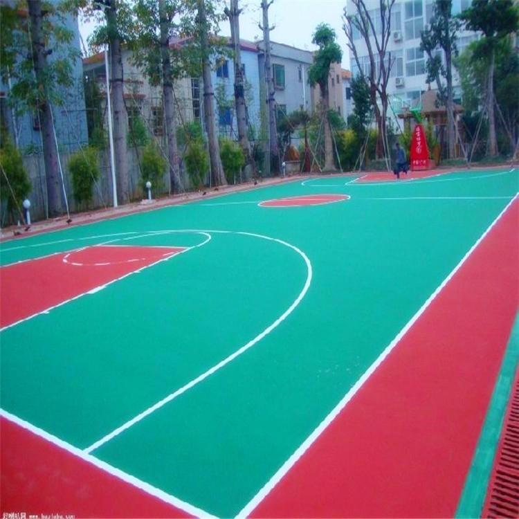 江西硅Pu球场施工、硅Pu球场工程