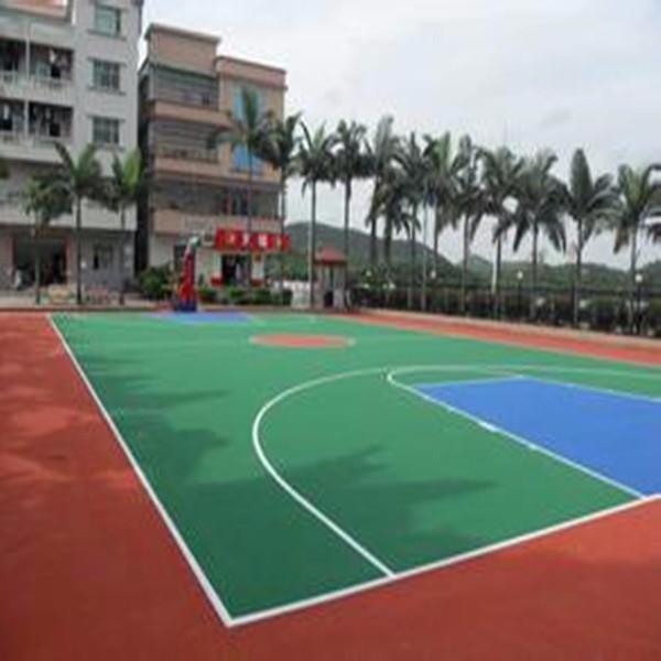 揭阳硅pu运动场 硅pu篮球场 硅pu球场