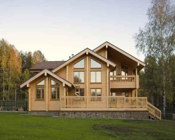 豪华木结构别墅设计-首商网