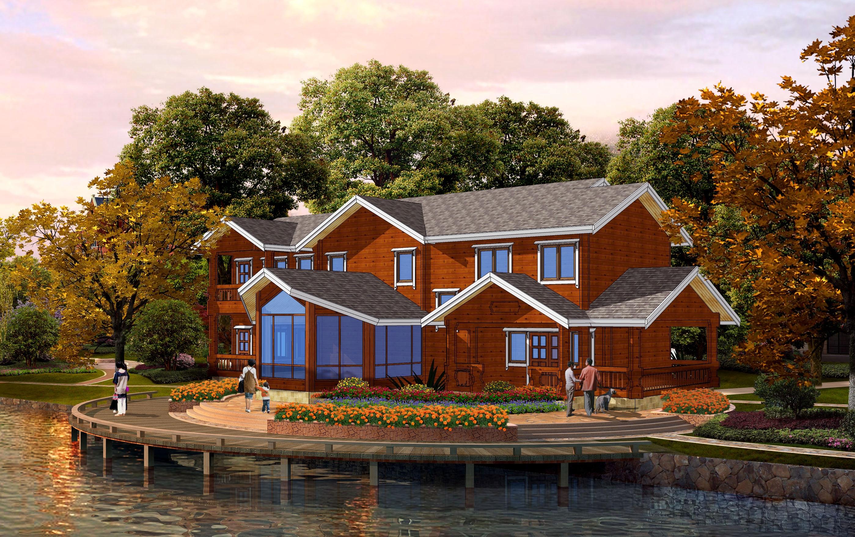 木屋别墅多少钱
