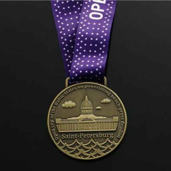 马拉松奖牌定做图片