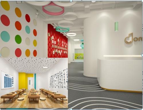 幼儿园主题墙饰设计价格