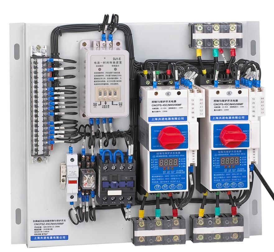 上海kb0控制与保护开关 CNCPS(KBO)系列控制与保护开关电器采用模块化的单一产品结构型式,集成了传统的断路器(熔断器)、接触器、过载(或过流、断相)保护继电器、智能漏电综合保护器、起动器、隔离器、电机综合保护器等低压电器产品的主要功能,具有远距离自动控制和就地直接人力控制功能,具有面板指示及机电信号报警功能,具有过压欠压保护功能,具有断相缺相保护功能,具有协调配合的时间一电流保护特性(具有过载长延时、过载短延时、短路瞬时三段保护特性)。根据需要选配功能模块或附件,具有保护(包括短路保护、过载保护、