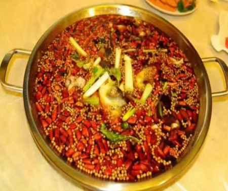 重庆特色火锅菜品