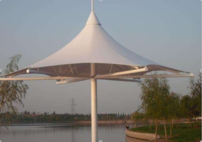 膜结构遮阳伞