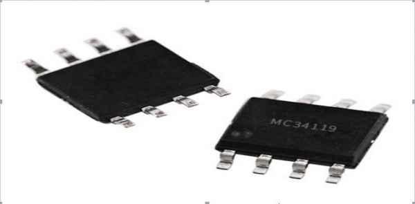 mc34119小功率音频功放的双极型集成电路芯片