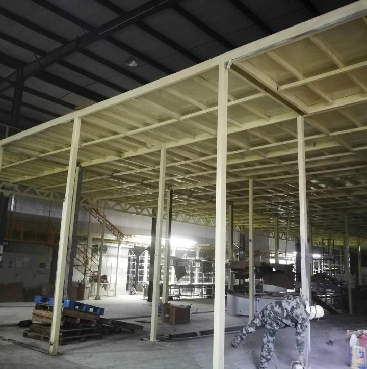 钢结构仓库平台