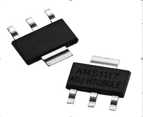 AMS1117-ADJ低压差线性稳压器(LDO)芯片 AMS1117系列稳压器有可调版与多种固定电压版,设计用于提供1A输出电流且工作压差可低至1V。在最 大输出电流时,AMS1117器件的最小压差保证不超过1.3V,并随负载电流的减小而逐渐降低。AMS1117的片上微调把基准电压调整到1.5%的误差以内,而且电流限制也得到了调整,以尽量减少因稳压器和电源电路超载而造成的压力。2.