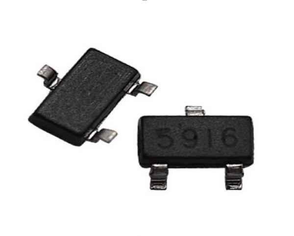 6206-3.6V低压差线性稳压器(LDO)芯片 AMS6206是一种用于电池供电设备的250mA超低静态电流CMOS低退学(LDO)调节器。固定的输出电压为1.5v、1.8V、2.5v、2.8V、3.0V、3.3V和3.6V。 其他的特性还包括50a低功耗,压差低,输出精度高、限流保护、高纹波抑制比。AMS6206采用SOT23封装SOT89-3封装和SOT23-3封装。华芯商城 6206-3.