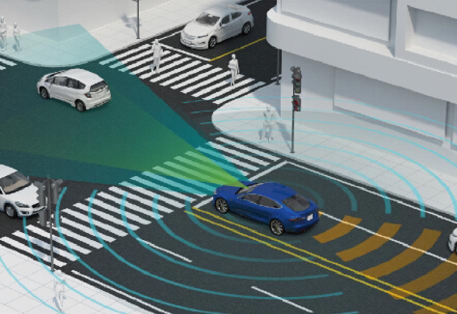 智能驾驶辅助系统 高级驾驶辅助系统是利用安装在车上的各式各样传感器,在汽车行驶过程中随时来感应周围的环境,收集数据,进行静态、动态物体的辨识、侦测与追踪,并结合导航仪地图数据,进行系统的运算与分析,从而预先让驾驶者察觉到可能发生的危险,有效增加汽车驾驶的舒适性和安全性。 智能驾驶辅助系统
