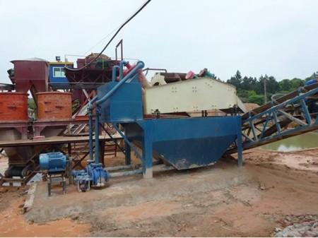 海沙淡化(水处理)设备,砂石分离机,浆水回收,搅拌站配套设备,污水处理