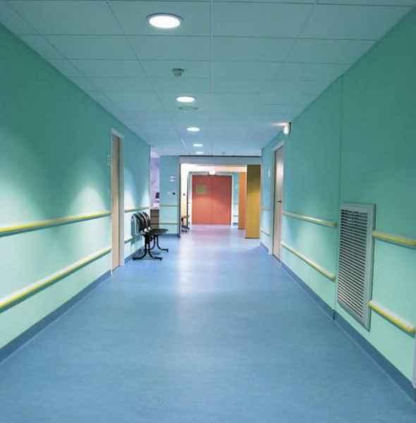 医院pvc同质透心地板地面
