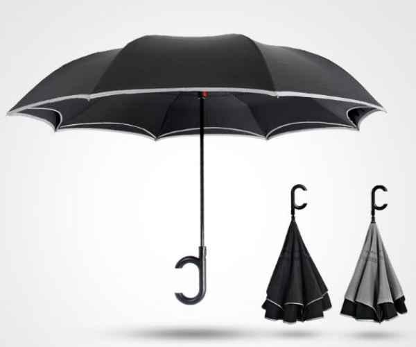 汽车自动反向伞图片