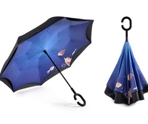 品牌反向雨伞图片