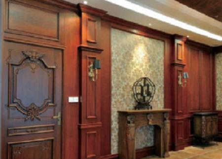 欧式实木护墙板加工定制
