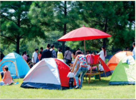 帐篷露营景区地址