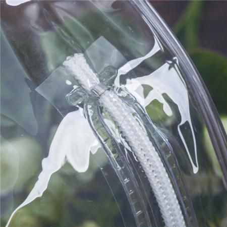 透明毛巾包装圆筒定制