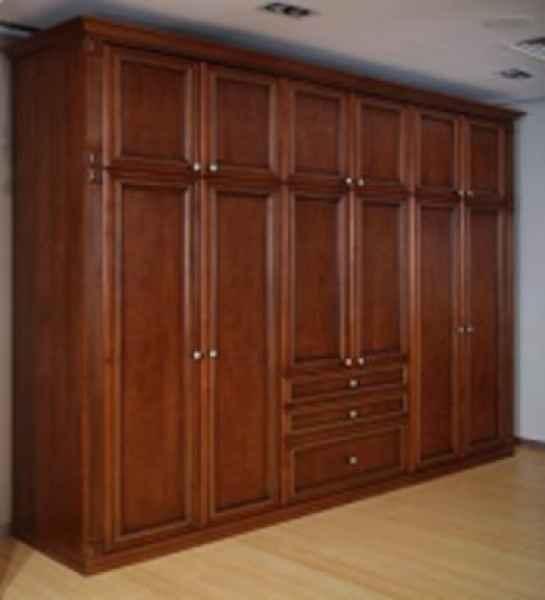 整木家装定制衣柜