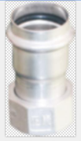 不锈钢水管螺母移动对接