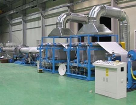 山东PEF发泡设备生产线